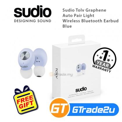 Sudio Tolv Graphene Auto Pair Light Wireless Bluetooth Earbud *Free Gift