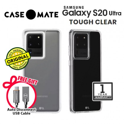 Case-mate Tough Case Samsung Galaxy S20 Ultra Clear *Free Gift