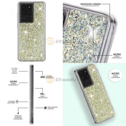 Case-mate Tough Case Samsung Galaxy S20 Ultra Twinke Stardust *Free Gift