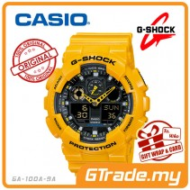 CASIO G-SHOCK GA-100A-9A Analog Digital Watch | Bumble Bee Design