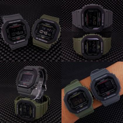 Casio G-Shock Men DW-5610SU-3D DW5610SU-3D DW-5610SU-3 Digital Army Military Watch Matte Green Resin Band G Shock . watch for man . jam tangan lelaki . casio watch for men . casio watch . men watch . watch for men [READY STOCK]