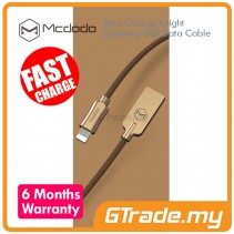 MCDODO Sync Charger Knight Lightning  Data Cable Lightning to USB - Gold