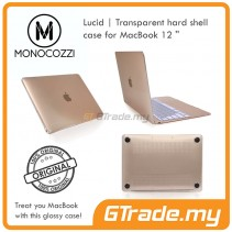 "MONOCOZZI Transparent Hard Shell Cover Case Apple Macbook 12"" White"