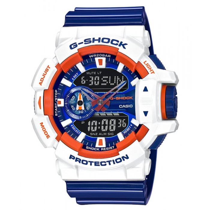 finest selection 1e4b0 1754d CASIO G-SHOCK GA-400CS-7A Analog Digital Watch | Strike ...