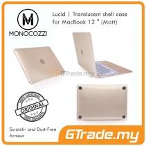 MONOCOZZI Transparent Shell Cover Case Matte Apple Macbook 12' White