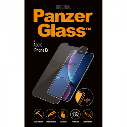 [MCO SALE] PanzerGlass Original Tempered Glass Screen Proctector Apple iPhone Xr *Free Gift