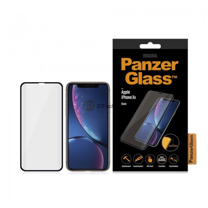 [MCO SALE] PanzerGlass Premium Full Cover 3D Tempered Glass Screen Proctector Apple iPhone Xr *Free Gift