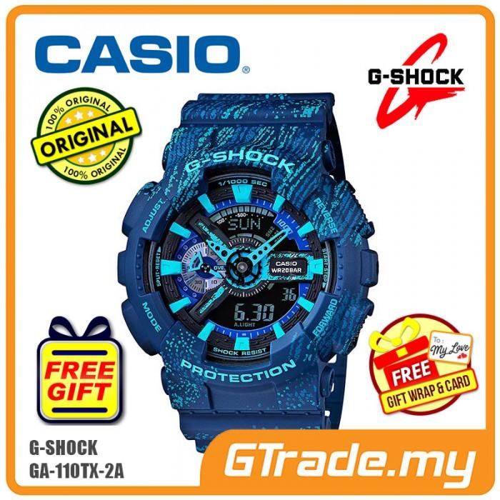 e15a2f646f6b CASIO G-SHOCK GA-110TX-2A Digital Analog Watch