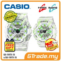 CASIO G-SHOCK BABY-G GA-110TX-7A BA-110TX-7A Couple Watch Mist Design