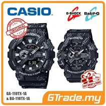 CASIO G-SHOCK BABY-G GA-110TX-1A BA-110TX-1A Couple Watch Mist Design