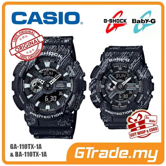 ca9f403a5ecf CASIO G-SHOCK BABY-G GA-110TX-1A BA-110TX-1A Couple Watch Mist Design