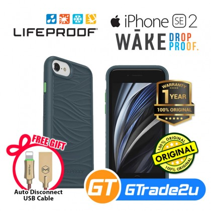 LifeProof Wake Recycle Tought Protect Case Apple iPhone SE 2 8 7 6S *Free Gift