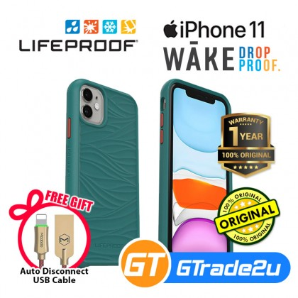 LifeProof Wake Recycle Tought Protect Case Apple iPhone 11 Xr *Free Gift