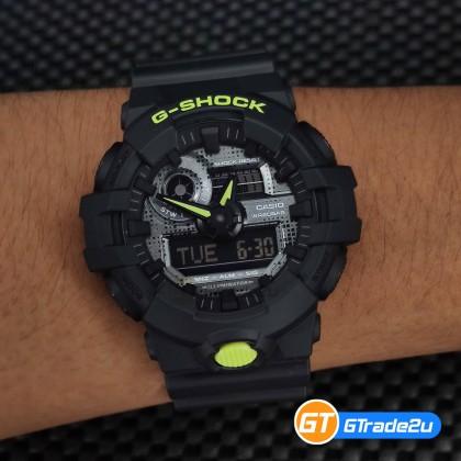 Casio G-Shock Men GA-700DC-1A GA-700DC-1 GA700DC-1A Digital Metallic Digital Camou. Watch Black Resin Band G Shock . watch for man . jam tangan lelaki . casio watch for men . casio watch . men watch . watch for men [READY STOCK]