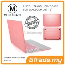 MONOCOZZI Translucent Hard Shell Case Apple Macbook Air 13' Pink
