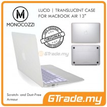 MONOCOZZI Translucent Hard Shell Case Apple Macbook Air 13' White
