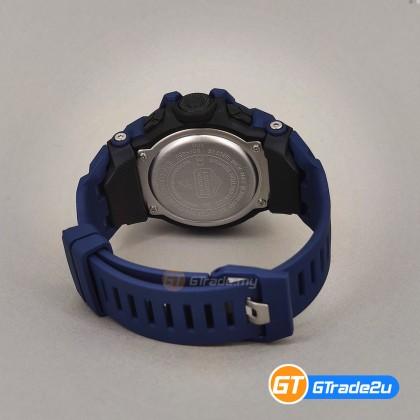 Casio G-Shock Men GBD-100-2D GBD-100-2 GBD100-2D Digital Run Traning HD MIP LCD Watch Blue Resin Band G Shock . watch for man . jam tangan lelaki . casio watch for men . casio watch . men watch . watch for men [READY STOCK]