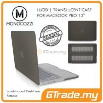 MONOCOZZI Translucent Hard Shell Case Apple Macbook Air 13' Black