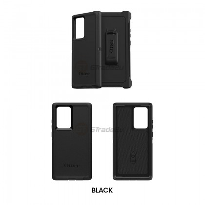 Otterbox Defender Rugged Tough Case Samsung Galaxy Note 20 Ultra 5G Black *Free Gift