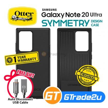 Otterbox Symmetry Slim Tough Case Samsung Galaxy Note 20 Ultra 5G Black *Free Gift