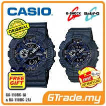 CASIO G-SHOCK BABY-G GA-110DC-1A BA-110DC-2A1 Couple Watch Denim Jeans