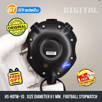 Casio Sport HS-80TW-1D HS-80TW-1 HS80TW-1D Hand Held Track Field Digital Stopwatch [READY STOCK]