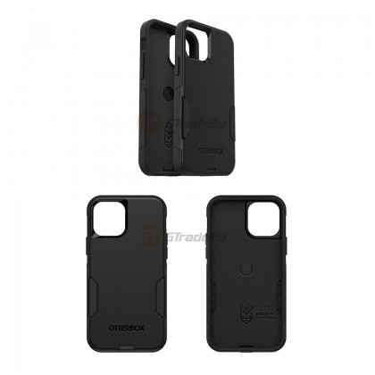 Otterbox Commuter Double Layer Tough Case Apple iPhone 12 12 Pro Black *Free Gift