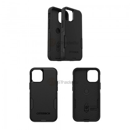 Otterbox Commuter Double Layer Tough Case Apple iPhone 12 Mini Black *Free Gift