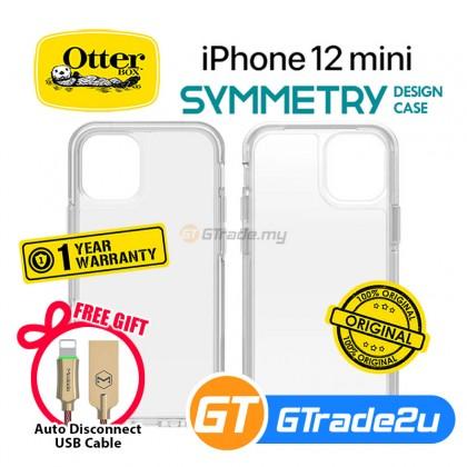 Otterbox Symmetry Clear Slim Tough Case Apple iPhone 12 Mini *Free Gift