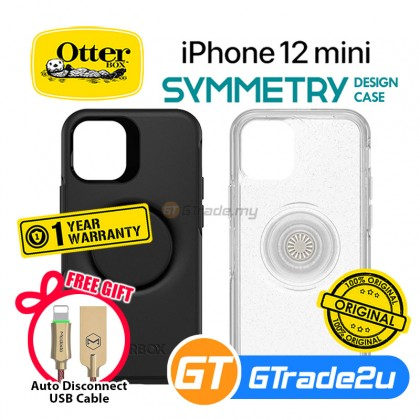 Otterbox Pop Symmetry  Slim Tough Case Apple iPhone 12 Mini *Free Gift