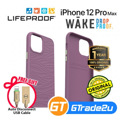 LifeProof Wake Recycle Tought Protect Case Iphone 12 Pro Max *Free Gift