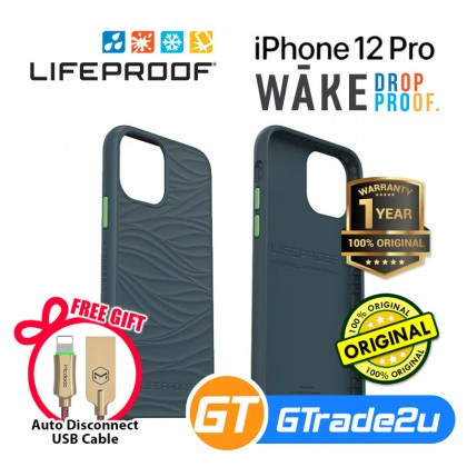 LifeProof Wake Recycle Tought Protect Case Iphone 12 12 Pro *Free Gift