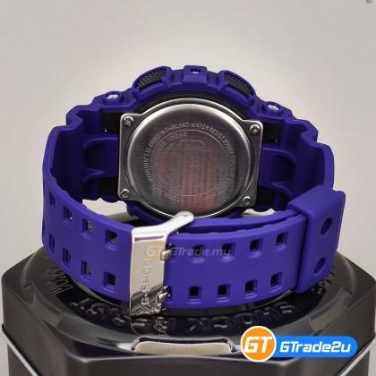 Casio G-Shock Men GA-140-6A GA140-6A Analog Digital Watch Purple Resin Band G Shock . watch for man . jam tangan lelaki . casio watch for men . casio watch . men watch . watch for men [READY STOCK]