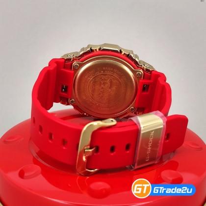 Casio G-Shock GM-5600CX-4D GM-5600CX-4 GM5600CX-4D Digital CNY Ox Year Watch Gold Red Resin Band G Shock . watch for man . jam tangan lelaki . casio watch for men . casio watch . men watch . watch for men [READY STOCK]