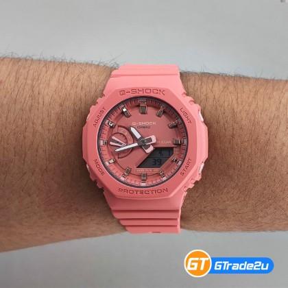 Casio G-Shock Mini Women Ladies GMA-S2100-4A2 GMAS2100-4A2 Analog Digital TMJ Wanita Watch Black Resin Band G Shock . watch for man . jam tangan lelaki . casio watch for men . casio watch . men watch . watch for men [READY STOCK]