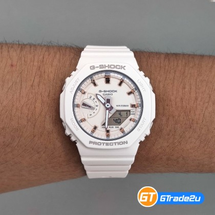 Casio G-Shock Mini Women Ladies GMA-S2100-4A GMAS2100-4A Analog Digital TMJ Wanita Watch Black Resin Band G Shock . watch for man . jam tangan lelaki . casio watch for men . casio watch . men watch . watch for men [READY STOCK]