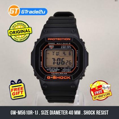 Casio G-Shock Men GW-M5610R-1J GWM5610R-1J GW-M5610R-4 Digital Petak Japan Set Multi-Band 6 Watch Orange Black Resin Band G Shock . watch for man . jam tangan lelaki . casio watch for men . casio watch . men watch . watch for men [READY STOCK]