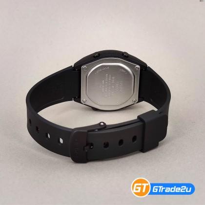 Casio Standard Ladies Women LW-204-1B LW204-1B Digital Watch Black Out Resin Band jam tangan wanita . casio watch . casio watch women [READY STOCK]