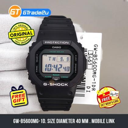 Casio G-Shock Men GW-B5600MG-1D GW-B5600MG-1 GWB5600MG-1D Digital GWB Petak Midnight Green  Watch Black Resin Band G Shock . watch for man . jam tangan lelaki . casio watch for men . casio watch . men watch . watch for men [READY STOCK]