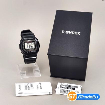Casio G-Shock Men GW-S5600U-1J GWS5600U-1J Digital Petak GW Carbon Fiber Japan Set Watch Black Carbon Fiber Band G Shock . watch for man . jam tangan lelaki . casio watch for men . casio watch . men watch . watch for men [READY STOCK]