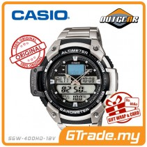 CASIO OUTGEAR SGW-400HD-1BV Sport Gear Watch | Alti. Baro. Thermo.