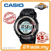 CASIO SPORTS GEAR SGW-200-1BV Runner Jogging Watch |Accelerat. Sensor