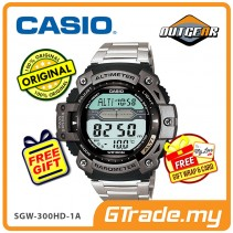 CASIO OUTGEAR SGW-300HD-1AV Sport Gear Watch | Alti. Baro. Thermo.