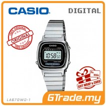 [READY STOCK] CASIO STANDARD LA670WA-1D Digital Ladies Watch | Retro New Color Alarm