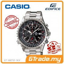 CASIO EDIFICE EF-527D-1AV Chronograph Watch | Elegant Large Case
