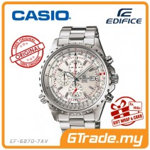 CASIO EDIFICE EF-527D-7AV Chronograph Watch | Elegant Large Case