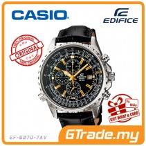 CASIO EDIFICE EF-527L-1AV Chronograph Watch | Elegant Large Case