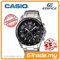 CASIO EDIFICE EFR-516D-1A7V Chronograph Watch | Luminescent Marker