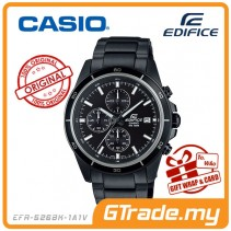CASIO EDIFICE EFR-526BK-1A1V Chronograph Watch | Black Ion Plate Case