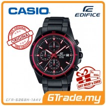 CASIO EDIFICE EFR-526BK-1A4V Chronograph Watch | Black Ion Plate Case